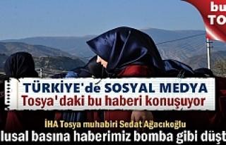 TOSYA'DAKİ BU GÖRÜNTÜLER ULUSAL BASINDA BOMBA...