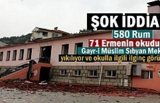 Yıkılan Atatürk İlkokulu ile ilgili Şok İddia