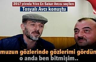2017 Yılı Sakar Avcı Ödülünü alan Tosyalı...