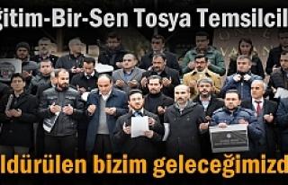 EĞİTİM-BİR-SEN TOSYA TEMSİLCİLİĞİNDEN BASIN...