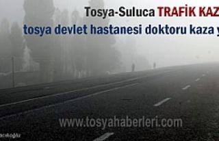 Tosya Devlet Hastanesi Doktoru sisli havada Suluca...