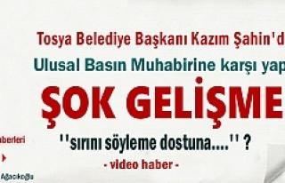 Tosya Yaren Meclisinde Başkan Kazım Şahin'den...