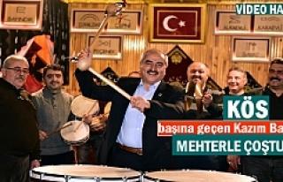 Başkan Kazım Şahin Mehteran Takımının Çalışmalarını...