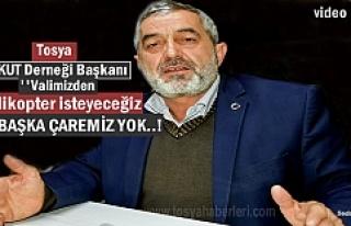 TOSYA ARAMA KURTARMA DERNEĞİ KASTAMONU VALİSİNDEN...