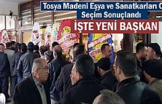 TOSYA MADENİ EŞYA ve SANATKARLARI SEÇİM SONUÇLARI...
