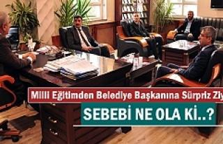 Tosya Milli Eğitim'den Başkan Kazım Şahin'e...