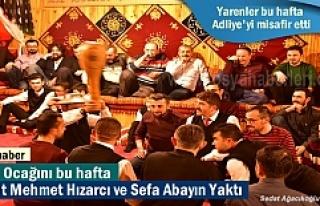 Tosya Yarenlerinde bu hafta Ocağı Avukat Mehmet...