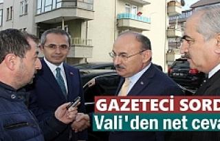 KASTAMONU VALİSİ TOSYA ZİYARETİNDE BASIN MENSUBUNA...