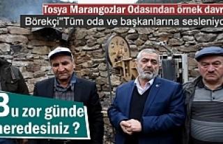 MARANGOZLAR ODASI YANGINDA İŞYERİ YANAN ESNAFA...