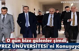 Tosya Meslek Yüksek Okulu İstişare Topalantısı...