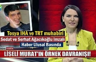 Tosya İHA ve TRT Muhabirleri imzalı haber Ulusal...