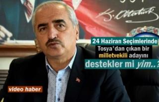 Kazım Şahin Tosya'dan çıkacak milletvekili...