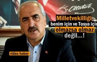 Tosya Belediye Başkanı Kazım Şahin Adaylıkla...