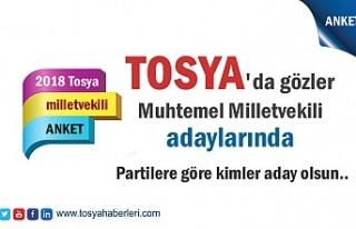 Tosya'da Kimler Milletvekili Adayı Olsun (Anket...