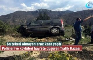 Tosya'da Polisleri ve Köylüleri hayrete düşüren...
