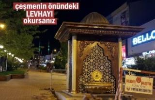 Tosya'Da Saat Kulesi ve 3 çeşme hizmete açıldı