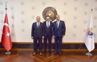 Tosya Ticaret ve Sanayi Odası Rifat Hisarcıklıoğlu'nu...