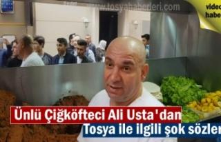 Ünlü Çiğ Köfteci Ali Usta Tosya Pirinci ile ilgili...