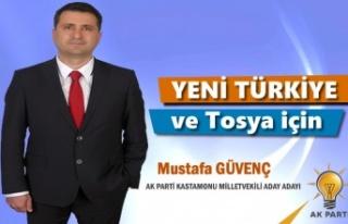 AK PARTİ KASTAMONU MİLLETVEKİLİ ADAY ADAYI MUSTAFA...