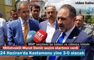 MİLLETVEKİLİ MURAT DEMİR TOSYA'DA SEÇİM...