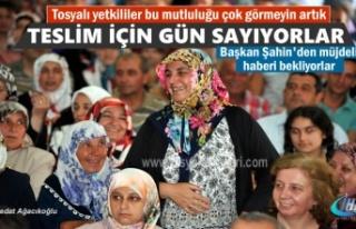 TOSYA 2.ETAP TOKİ KONUT SAHİPLERİ BAŞKAN ŞAHİN'DEN...