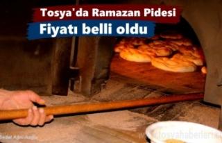 Tosya'da 2018 yılı Ramazan Pidesi Kaç Para...