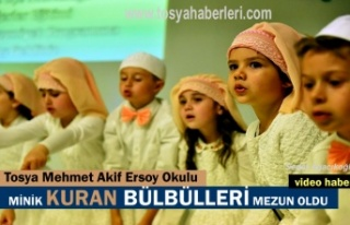 Tosya'da Kuran Bülbülleri Mezun oldu