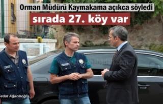 Tosya Orman İşletme Müdürü ''Sırada...