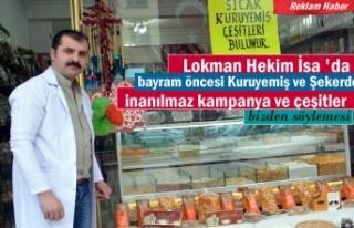 Lokman Hekim Ramazan Bayramına Şeker ve Kuruyemiş...