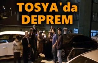 SON DAKİKA - TOSYA'DA DEPREM - SON DAKİKA