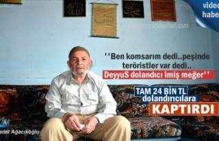 Tosya'da 24 Bin TL dolandırılan yaşlı adam...