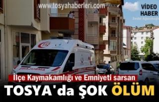 Tosya'da Polis Memurunun Şok Ölümü