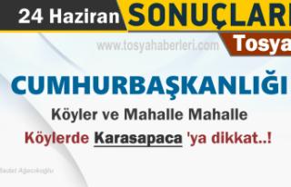 24 HAZİRAN CUMHURBAŞKANLIĞI TOSYA KÖY VE MAHALLE...