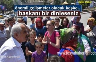 Tosya Cumhuriyet Meydanında Kız Çocuk Annelerin...