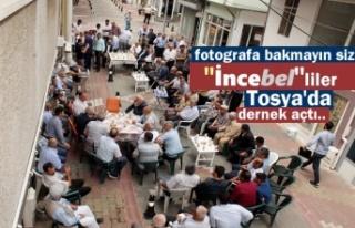 Tosya'da İncebel Köyü Dernek Binası açıldı