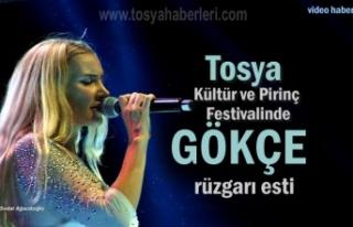 Tosya 21.Kültür ve Pirinç Festivalinde Gökçe...