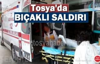 TOSYA'DA BIÇAKLI KAVGA