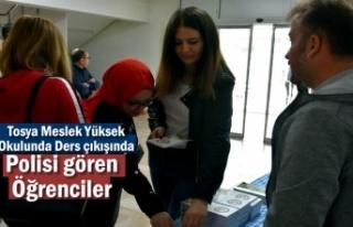 Tosya Meslek Yüksek Okulu Öğrencilerine Emniyet...