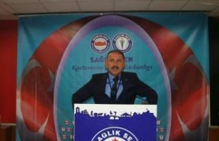 Sağlık-Sen'de Mevcut Başkan Mehmet Öz, Güven...