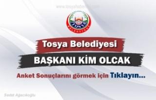 Tosya Belediyesi Başkanı Kim Olacak ANKET SONUÇLARI