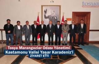 Tosya Marangozlar Odası Yönetimi Kastamonu Valisi...