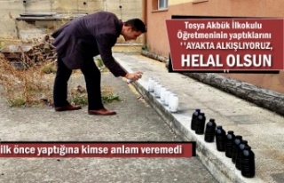 Tosya'da Bir Köy Öğretmeni yaptığı iki farklı...