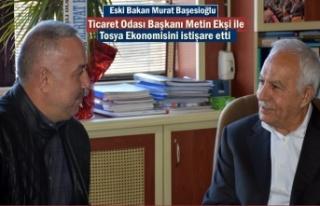 Eski Bakan Murat Başeskioğlu'' MHP Tosya...