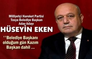 MHP Tosya Belediye Başkan Aday Adayı Hüseyin Eken...