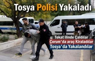 Tokat ilinde 3 Milyonluk Hırsızlık Yapanlar Tosya'da...