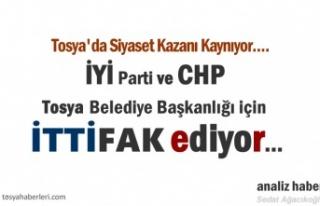 Tosya Belediye Başkanlığı için Siyaset Kazanı...
