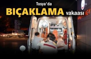 Tosya'da Bıçaklama Vakaası