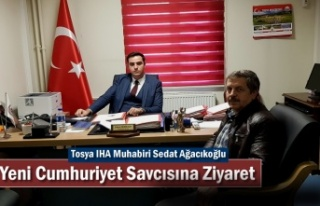 Tosya IHA Muhabiri Yeni Cumhuriyet Savcısı Serhat...
