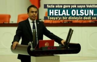 CHP KASTAMONU MİLLETVEKİLİ BALTACI, KRİZ YOK DİYEN...