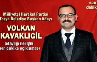 MHP Tosya Belediye Başkan Adayı Volkan Kavaklıgil